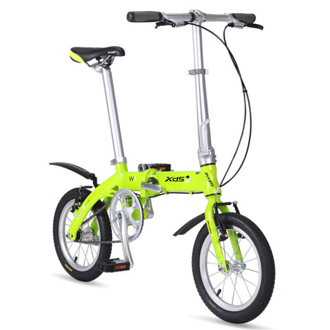 XDS 喜德盛 W5 休闲代步14寸折叠自行车