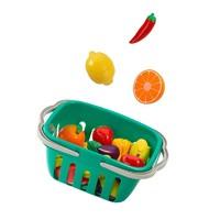 貝恩施兒童切水果玩具寶寶蔬菜切切樂魔術貼男女孩過家家廚房套裝