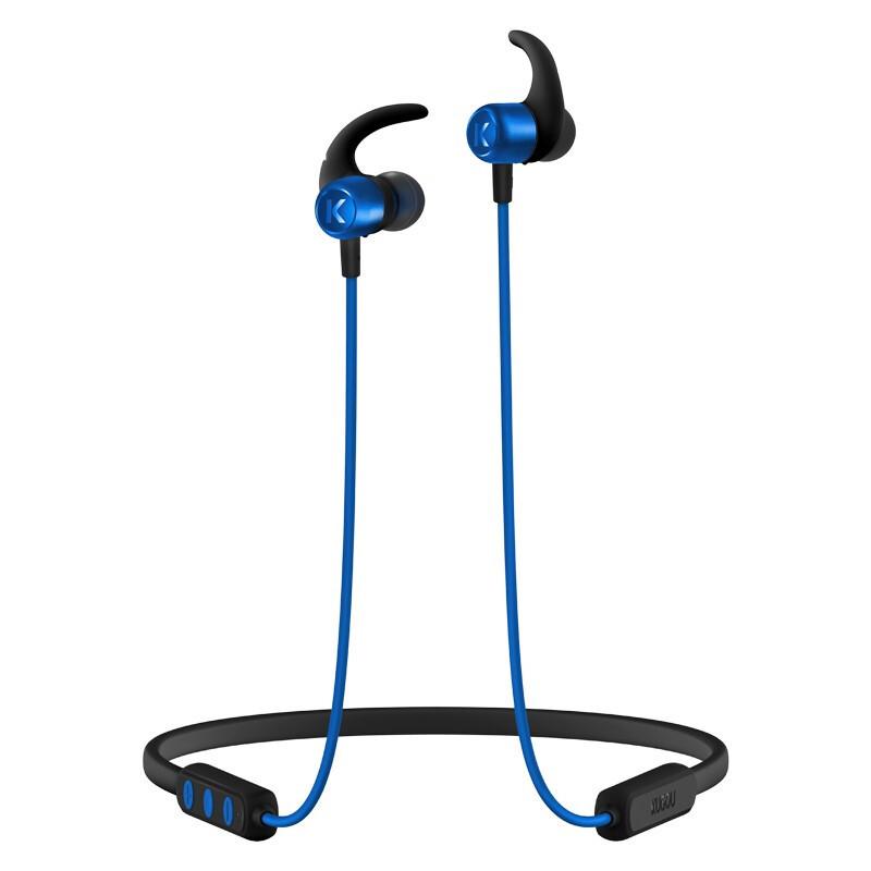KUGOU 酷狗 能量圈无线蓝牙耳机长续航16h蓝牙5.0磁吸开关智能点歌颈挂脖式跑步运动  活力版 酷狗蓝