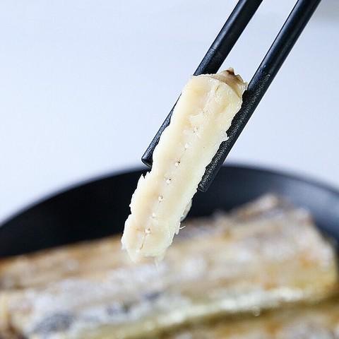 红小厨 现捕舟山带鱼国产礼盒冷冻新鲜海鲜水产 舟山带鱼400g *2件