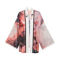 十三余 宋制汉服 西湖龙女 女士对襟短衫 SHF111698