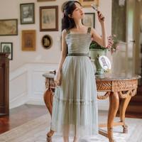 姿態玫瑰 N9233 女士小清新長裙
