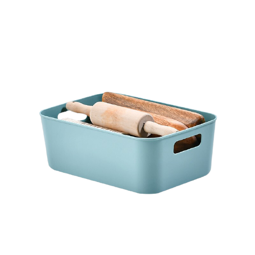 BELO 百露 收纳盒 26*18*9.5cm 龙胆绿 小号