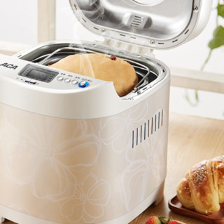 ACA 北美电器 AB-DCN03 普通面包机 白色