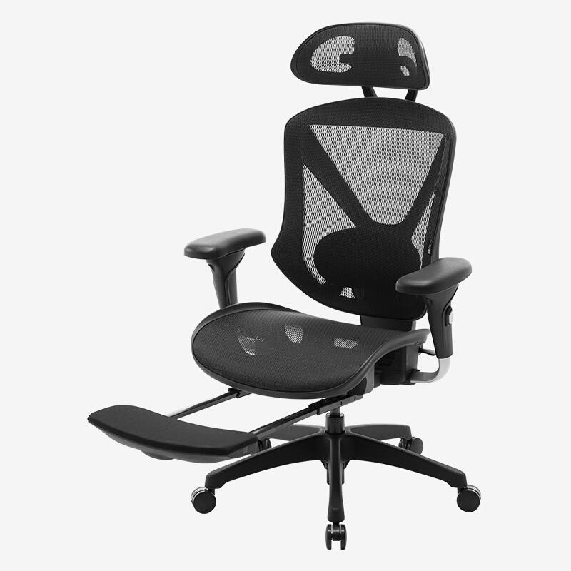 UE 永艺 蒙柯人体工学椅 黑色