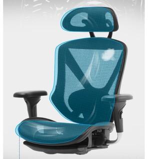 UE 永艺 人体工学电脑椅 黑色