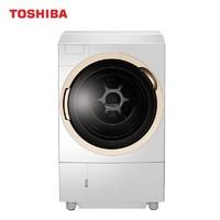 東芝 TOSHIBA 全自动滚筒洗衣机 热泵式洗烘一体  UFB超微泡 ASDD直驱电机  11公斤大容量 DGH-117X6D