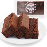 桃李 巧克力味布朗尼蛋糕 180g*3盒