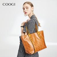 COOGI E306228401 女士環保彩印托特媽咪包