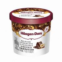 Häagen·Dazs 哈根达斯 巧克力香脆榛果碎 冰淇淋 100ml *5件