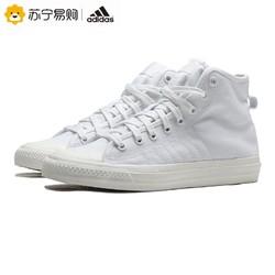 adidas阿迪达斯三叶草男鞋女鞋NIZZA运动鞋休闲高帮板鞋EF1885