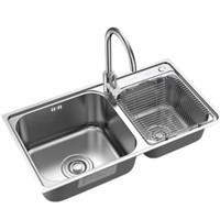 ARROW 箭牌卫浴 AE557810G 厨房水槽龙头套装