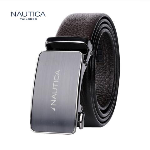 诺帝卡/NAUTICA新品头层牛皮革耐磨腰带宽34mm *4件