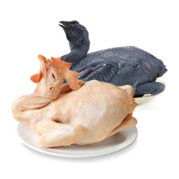 温氏 乌鸡/老母鸡2只+鸡翅中1kg+鸡胸/琵琶腿1kg(鸡翅中14.4元/斤等)