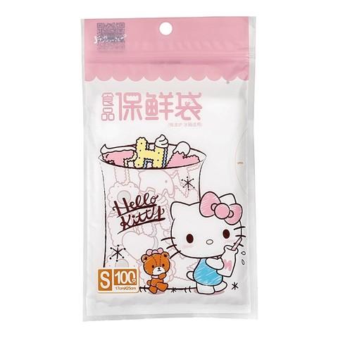 yekee 宜洁 Hello Kitty中号抽取式保鲜袋 70只