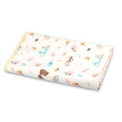 遇童 隔尿垫 可洗夹棉 月经垫 小鹿刺猬 尺码70*120