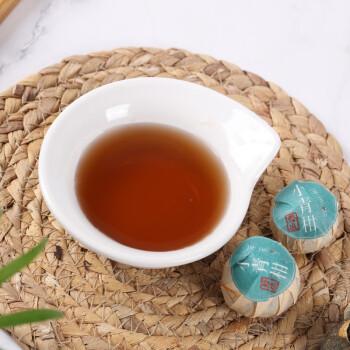 萃东方 小青柑 普洱茶 10g*8颗 *2件