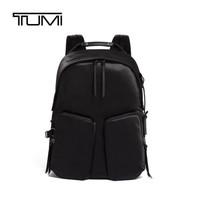 TUMI 途明 奢侈品 2020 DEVOE系列女士商务旅行高端时尚涤纶双肩包0834401D 黑色