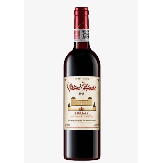 LAMONT 拉蒙 布兰特酒庄 波尔多AOC 14度 干红葡萄酒 750ml