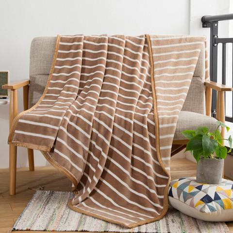 自然醒 毛毯加厚秋午休盖毯四季可用 1.5*2m
