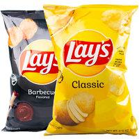 Lays 乐事 原味烧烤味薯片 77.9g*3袋