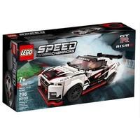 LEGO乐高超级赛车系列76896 日产GT-R NISMO赛车益智拼搭积木玩具