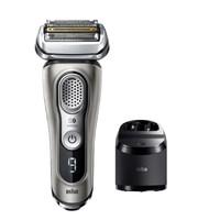 BRAUN 博朗 9系列 9385cc 电动剃须刀 银色 有清洁中心
