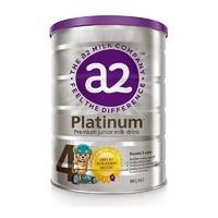 28日10点、考拉海购黑卡会员:a2 艾尔 白金版 儿童配方奶粉 4段 900g 3罐装