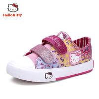 Hello Kitty 凯蒂猫 女童涂鸦休闲板鞋