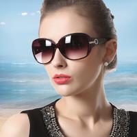 京東PLUS會員 : 名匠 偏光太陽鏡女士防紫外線2020新款韓版潮時尚眼鏡防曬大臉圓臉墨鏡 酒紅色