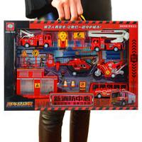 贝利雅 工程车系列 盒装消防车