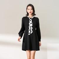 拉夏貝爾 24241-03FD-99 女款黑色連衣裙
