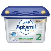 百亿补贴、移动专享:Aptamil 爱他美 婴儿配方奶粉 1/2段 800g