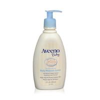 美国Aveeno艾惟诺进口婴儿燕麦保湿润肤乳护肤面霜354ml *4件