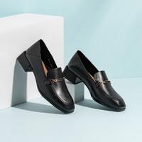Teenmix 天美意 CX801CQ0 女款方头乐福鞋
