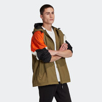 阿迪达斯官网 adidas 三叶草 PT3 WB GC8704 男装运动外套
