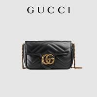 [预售]GUCCI古驰GG Marmont系列Supermini手袋女包