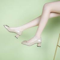 时髦女鞋优雅小皮鞋单鞋女