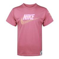 大logo 运动针织男装短袖T恤