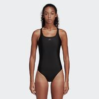 女士游泳衣新款保守遮肚修身显瘦专业经典三条杠连体泳衣