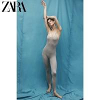 ZARA 05536032802 吊带针织连体裤