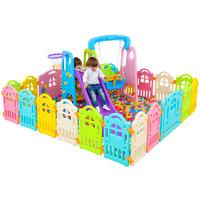 诺澳儿童游戏围栏婴儿宝宝防护栏室内爬行学步安全栅栏塑料玩具