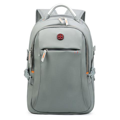CROSSGEAR 瑞士万能背包双肩包男商务休闲笔记本电脑包14英寸书包旅行防盗三级包 灰色