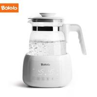 波咯咯(bololo)恒温水壶调奶器婴儿1.3L夜灯多功能温奶暖奶器冲奶器  液晶款BL-1206