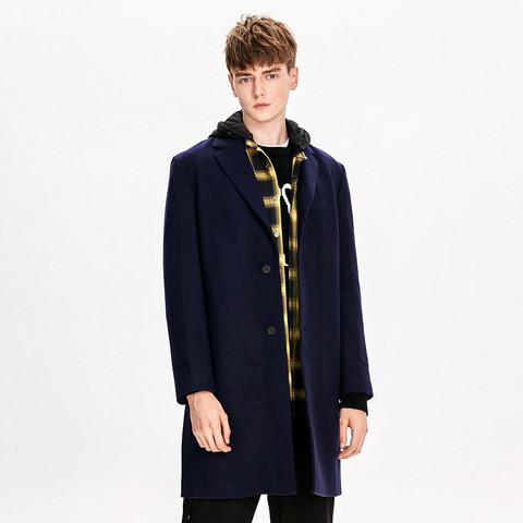 Trendiano 欧时力 3GC334755P730 羊毛混纺大衣