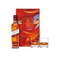 尊尼獲加 (JOHNNIE WALKER )洋酒 15年 蘇格蘭進口威士忌700ml雪莉版順意團圓限量禮盒