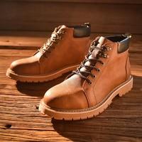 MARK FAIRWHALE 790496049252414 男士加绒马丁靴
