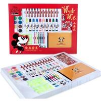 Disney 迪士尼 繪畫套裝 35件套 送圖畫本+勾線筆
