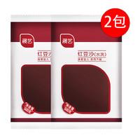 京东PLUS会员:展艺  红豆沙馅泥  500g*2袋