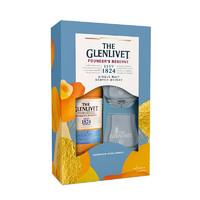 格蘭威特(Glenlivet)洋酒 創始人 單一麥芽 蘇格蘭 威士忌 禮盒裝 700ml